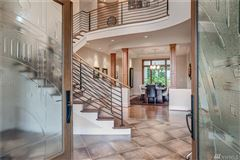 Luxury homes in beautiful lines and details throughout