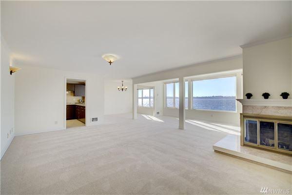 waterfront home with breathtaking views of lake washington  luxury real estate