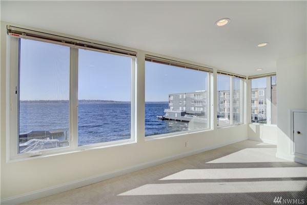waterfront home with breathtaking views of lake washington  luxury properties
