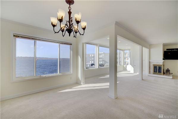 waterfront home with breathtaking views of lake washington  mansions