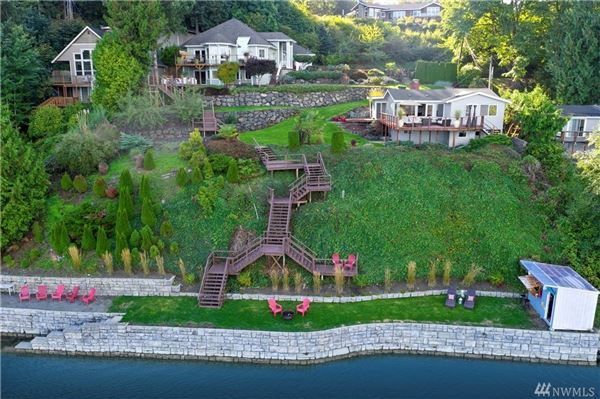 Luxury homes Privately gated waterfront paradise