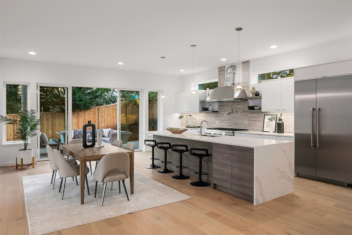 Luxury homes  inviting and light-filled, newly built home
