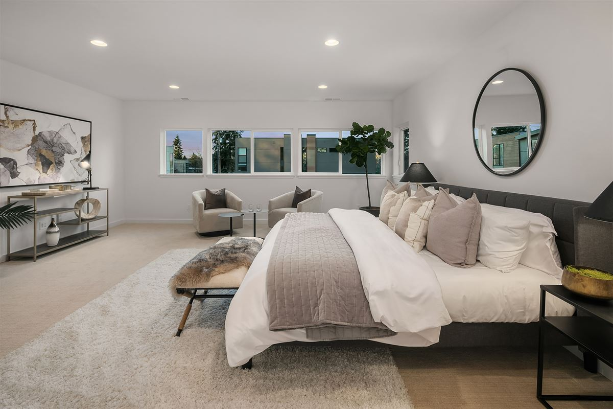inviting and light-filled, newly built home luxury properties