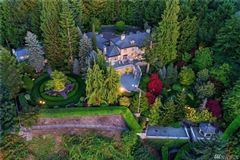 home Perched above Puget Sound mansions