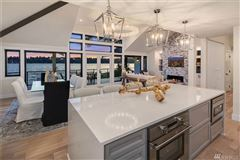 Stunning Carriage style waterfront property luxury homes