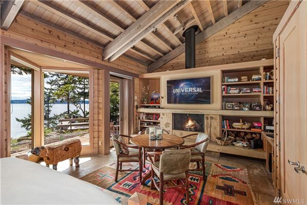 Luxury real estate CONTEMPORARY BLAKELY IS WATERFRONT COMPOUND
