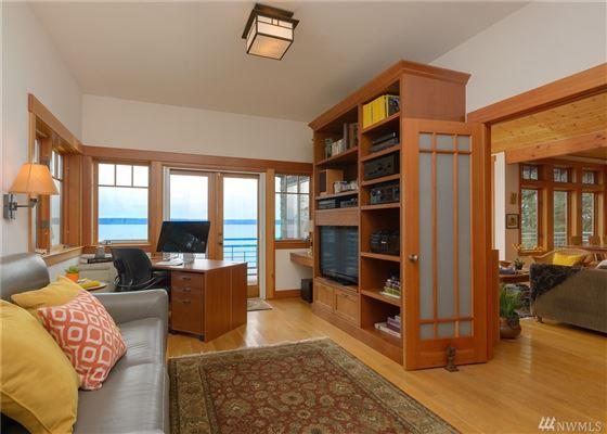 shy five acre waterfront retreat luxury properties