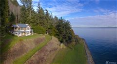 shy five acre waterfront retreat luxury homes