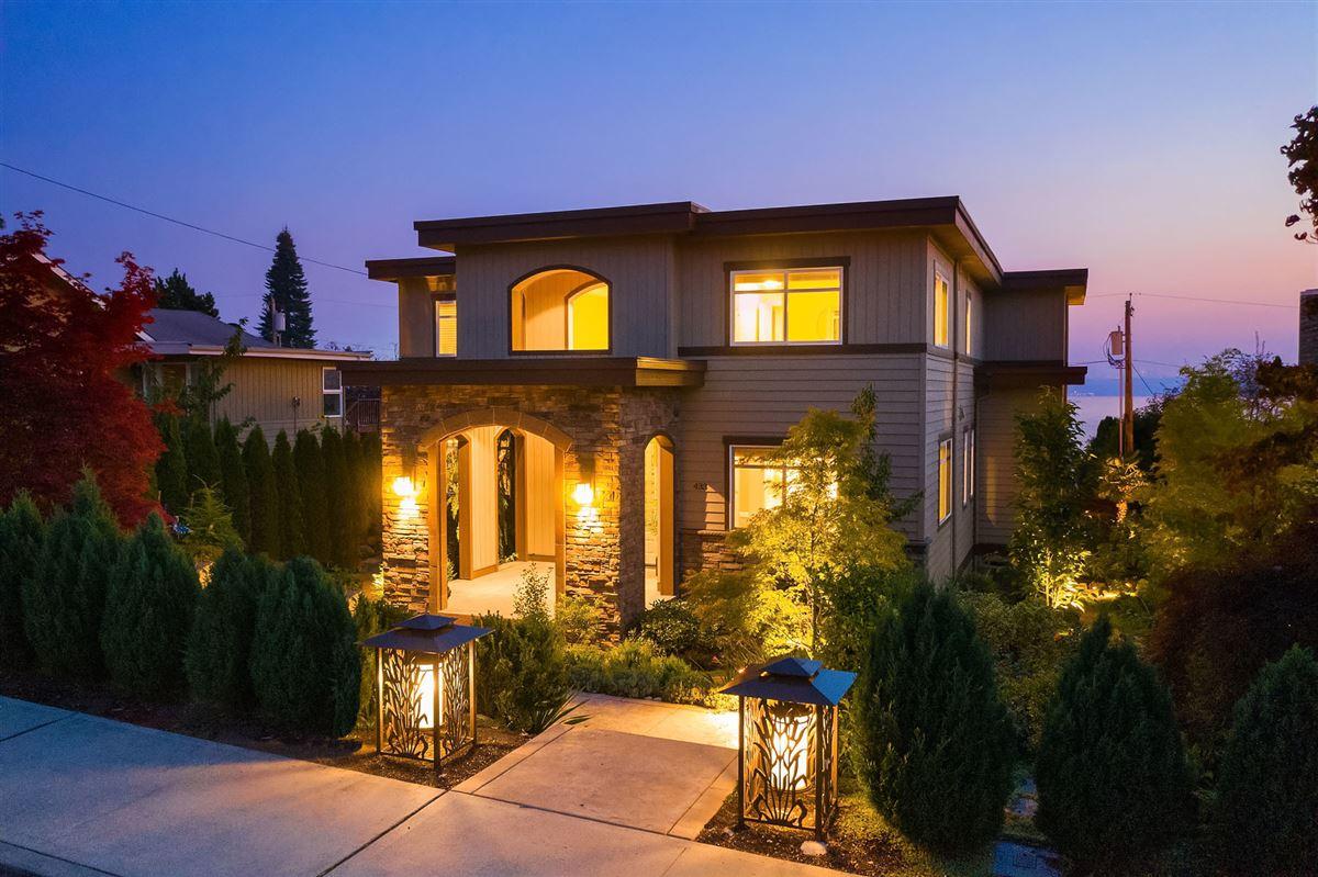 Luxury homes Northwest contemporary Set on a majestic landscape