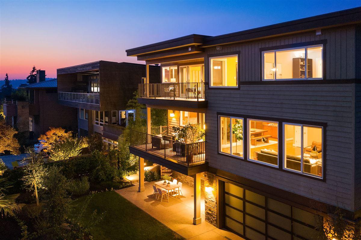 Luxury real estate Northwest contemporary Set on a majestic landscape