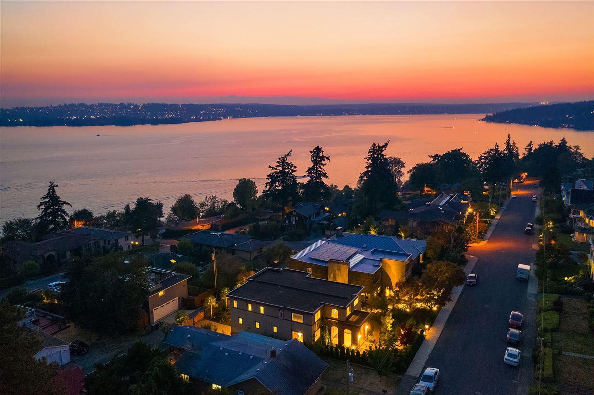 Northwest contemporary Set on a majestic landscape luxury properties
