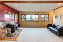 Luxury properties overlooking Quartermaster Harbor & Mt. Rainer