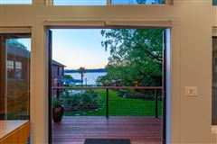 Luxury homes in Private Lake Washington walled compound