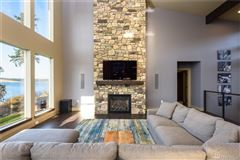 Pacific Northwest Contemporary waterfront estate luxury real estate