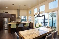 Luxury properties  Pacific Northwest Contemporary waterfront estate
