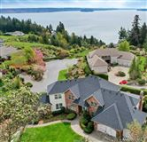 Mansions premier home with views of rainier and puget sound from nearly every room