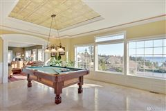 premier home with views of rainier and puget sound from nearly every room luxury homes