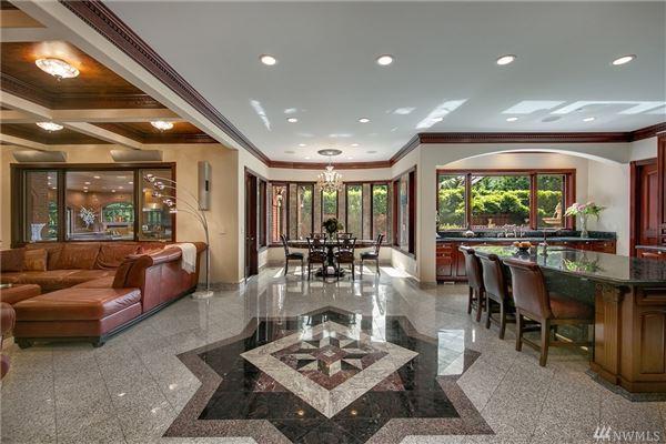 Luxury real estate European-inspired manse