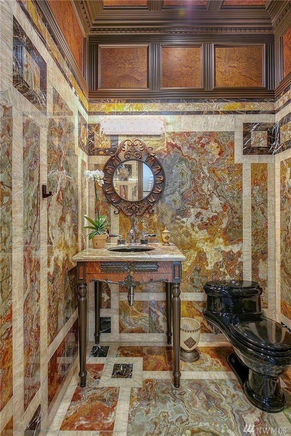 Mansions in European-inspired manse