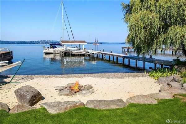 Luxury properties  immaculately maintained waterfront Home