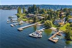 Luxury real estate  immaculately maintained waterfront Home