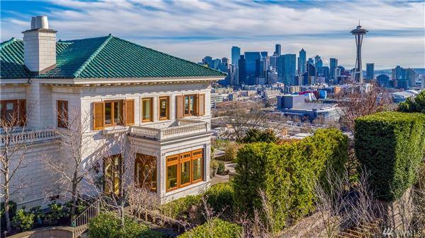 Gibbs House - historic Seattle property luxury properties