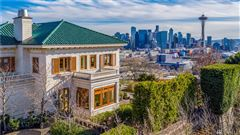 Luxury properties Gibbs House - historic Seattle property