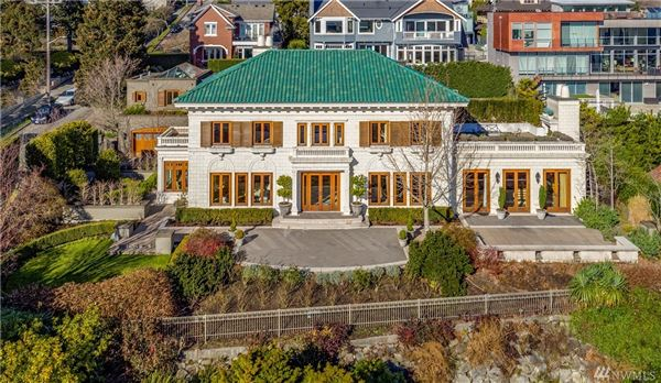 Luxury homes in Gibbs House - historic Seattle property