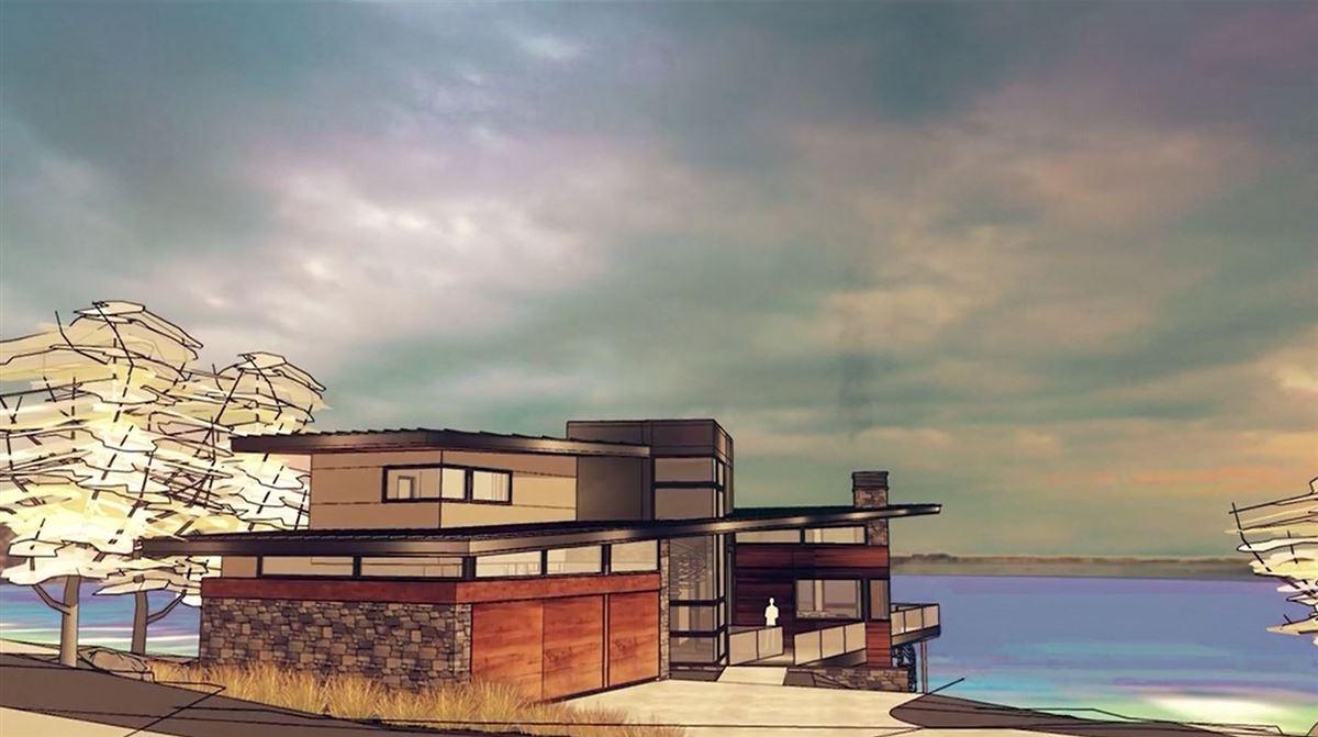 prime southwest-facing waterfront estate lot luxury properties