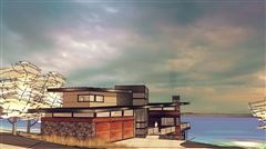 prime southwest-facing waterfront estate lot luxury real estate