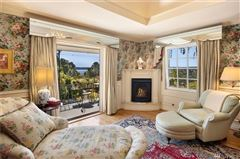Luxury real estate sophisticated home on a commanding site