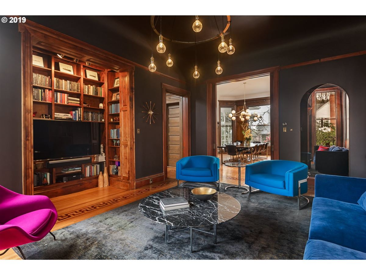 Masterfully restored 1890 Victorian luxury real estate