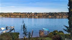 Luxury real estate new construction Mercer Island waterfront