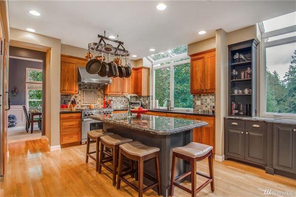 Luxury homes Deluxe Northwest designer home