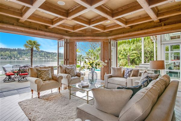 everyday oasis on Lake Sammamish luxury real estate