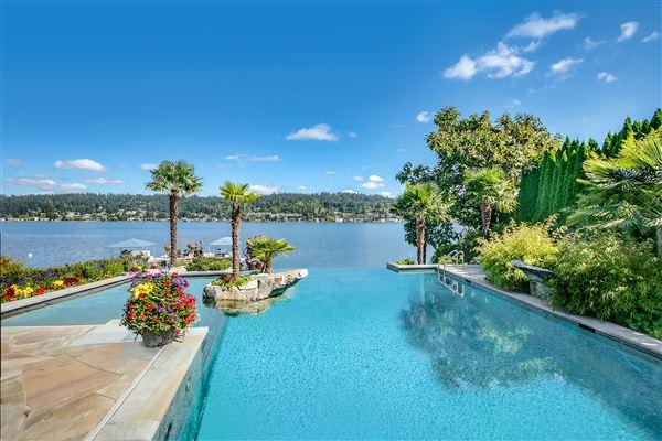 Luxury real estate everyday oasis on Lake Sammamish