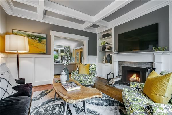 stately 1912 crown jewel of Capitol Hill  luxury homes