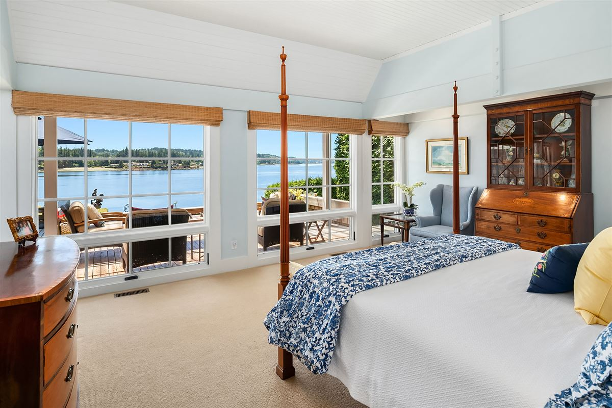 Captivating Cape Cod on 130 feet of low-bank waterfront luxury properties