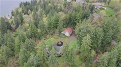 Mansions in Fox Island sanctuary