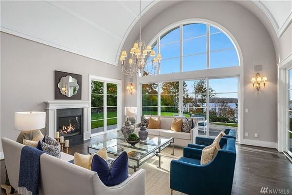brand new Hamptons-inspired view estate luxury real estate