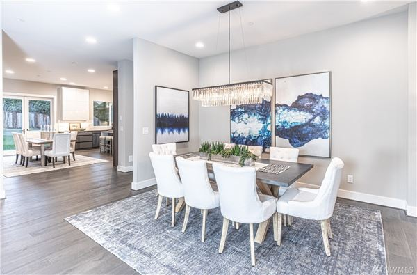 light and bright new custom home luxury real estate