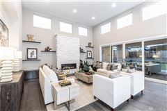 Luxury real estate light and bright new custom home