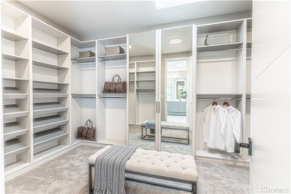 Luxury homes in light and bright new custom home