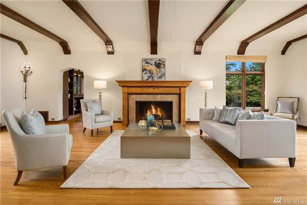 Luxury real estate grand Tudor revival