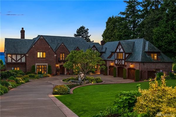 Luxury properties grand Tudor revival