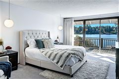 Luxury real estate exclusive Low bank west facing waterfront in Yarrow Point