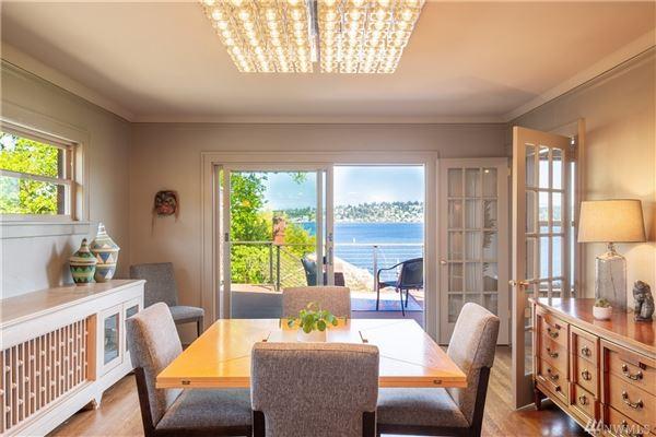 Private Lake Washington compound luxury real estate