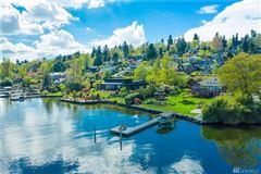 Private Lake Washington compound luxury homes