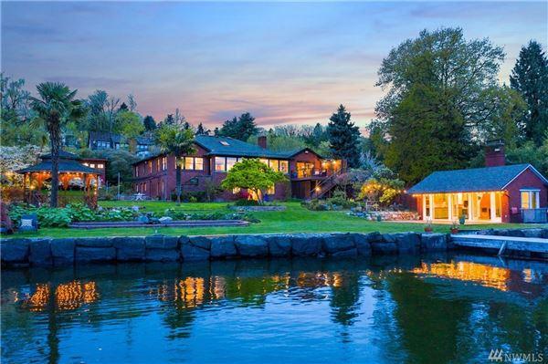 Private Lake Washington compound luxury properties