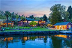 Luxury real estate Private Lake Washington compound